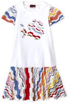 Missoni Girls 4-6x) Drop Waist Embroidered Dress