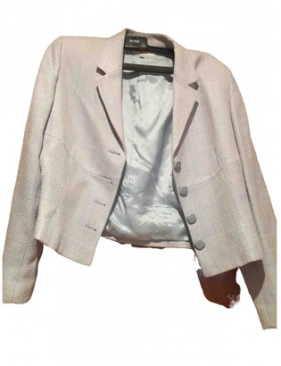 Georges Rech Blue Linen Jacket for Women