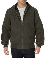 Dickies Men's Sanded Duck Thermal Lined Hooded Jacket