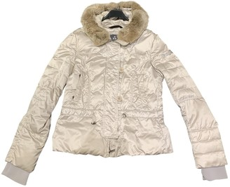 Peuterey Beige Coat for Women