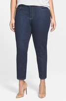 NYDJ Plus Size Women's 'Clarissa' Stretch Slim Ankle Jeans