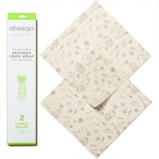 Abeego® Abeego Beeswax Food Wrap Large Set Of 2