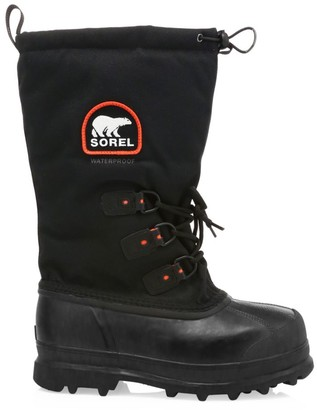 Sorel Glacier Drawstring Lace-Up Boots