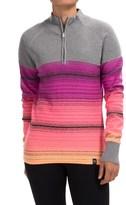 Neve Brandi Wool Sweater - Zip Neck (For Women)