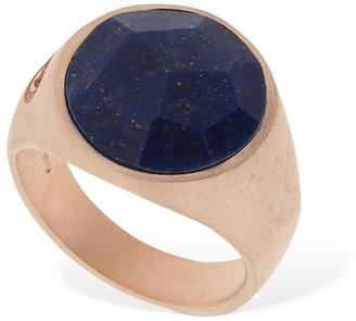Marco Dal Maso Lapis Lazzuli Stone Thick Pinky Ring