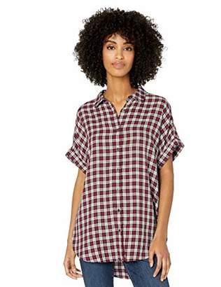 Goodthreads Modal Twill Short-sleeve Button-front ShirtXS