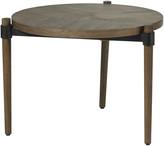 OKA Garasu Side Table - Aged Bark
