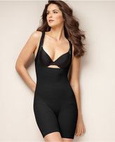 Naomi & Nicole Firm Control Unbelievable Comfort Long Leg Open Bust Body Shaper 7071