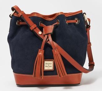 Dooney & Bourke Suede Small Drawstring Bag