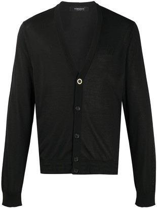 Versace Branded Button Cardigan