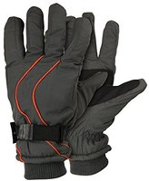 Urban Boundaries Men's Micro-Nylon Waterproof / Thinsulate Lined Cuffed Ski Glove