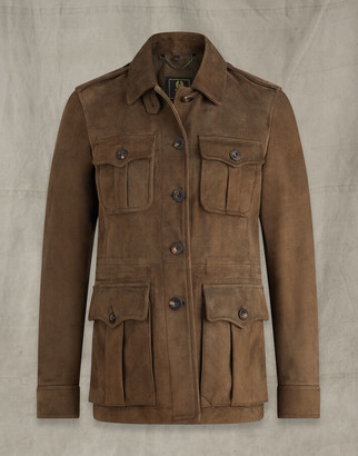 Belstaff CITY SAFARI JACKET Green UK 8 /