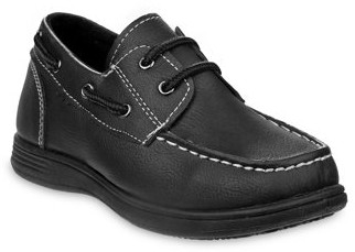 Josmo Dressy/Casual Lace Detail Boat Shoes (Little Boys & Big Boys)