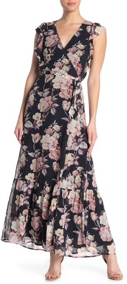 Paige Maquel Floral Silk Maxi Dress