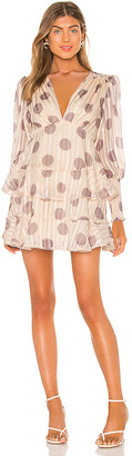 Keepsake Oblivion Long Sleeve Mini Dress