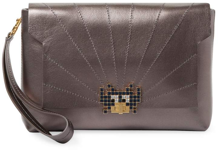 Anya Hindmarch Women's Space Invaders Bathurst Clutch Bag