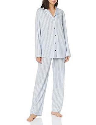 Calida Women's Sweet Dreams Pyjama Set, (Peacoat Blue 488), (Size: X-Small)