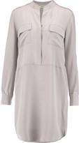 L'Agence Tessa washed-silk shirt dress