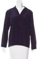 Clover Canyon Long Sleeve Button-Up Top