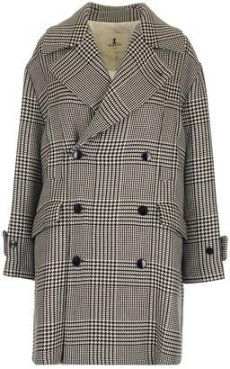 Barena Houndstooth Coat