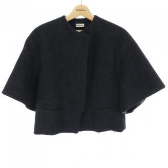 Hermes Grey Wool Jacket for Women Vintage
