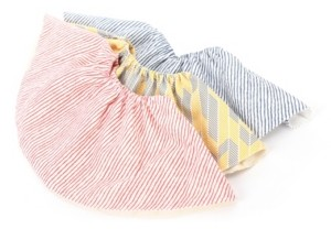 Perry Mackin Certified Organic Cotton Round Baby Bib