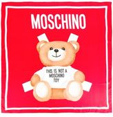 Moschino Toy Bear Paper Cut Out Scarf
