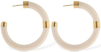 Aurelie Bidermann Katt Resin Hoop Earrings
