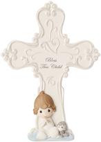 Precious Moments Baby Boy Cross Figurine