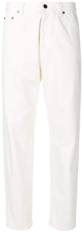 Saint Laurent tapered leg jeans