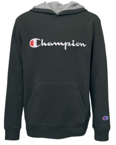 Champion Little Boys Embroidered Signature Fleece Hoodie