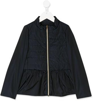 Herno quilted panel jacket