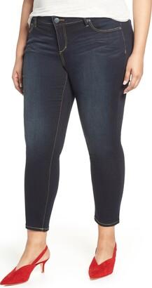 SLINK Jeans Stretch Ankle Skinny Jeans