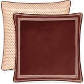 J Queen New York Rosewood Burgundy European Sham Bedding
