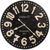 "Howard Miller ""Fulton Street"" Wall Clock"