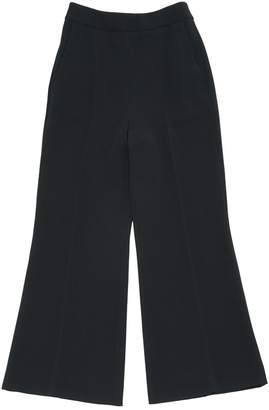 Sportmax Black Trousers for Women