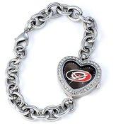 Game Time Women's NHL-HEA-CAR Carolina Hurricanes Heart Series Watch
