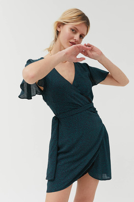Dress Forum Surplice Wrap Dress