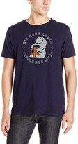 Lucky Brand Men's Beer Gut Graphic Tee