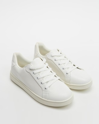 Spurr Women's White Low-Tops - Valerie Sneakers - Size 7 at The Iconic