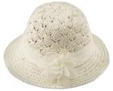 Cherokee Girls' Cloche Hat White OSFM