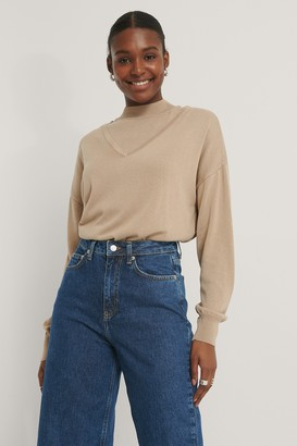 NA-KD Two Piece Layered Sweater
