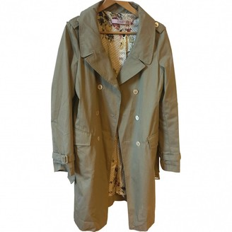 Valentino Red Beige Trench Coat for Women