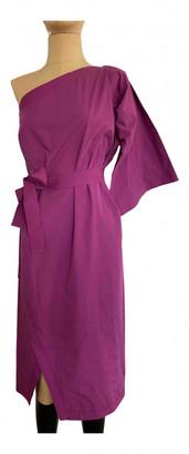 Bottega Veneta Purple Cotton Dresses