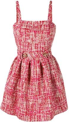Philipp Plein Mini Tweed Dress
