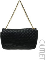 Double Chain Oversized Quilted Bag