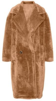 Vero Moda Long Faux Fur Coat - XS (6)