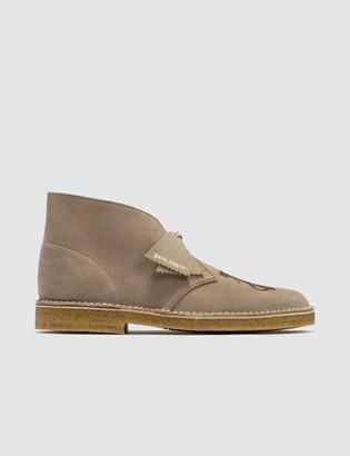 Palm Angels x Clarks Logo Desert Boots
