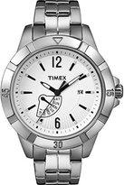 Timex T2 N509 – Ladies Watch – Analogue Quartz – Grey Stainless Steel Bracelet