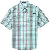 Columbia PFG Super Tamiami Checked Short-Sleeve Shirt